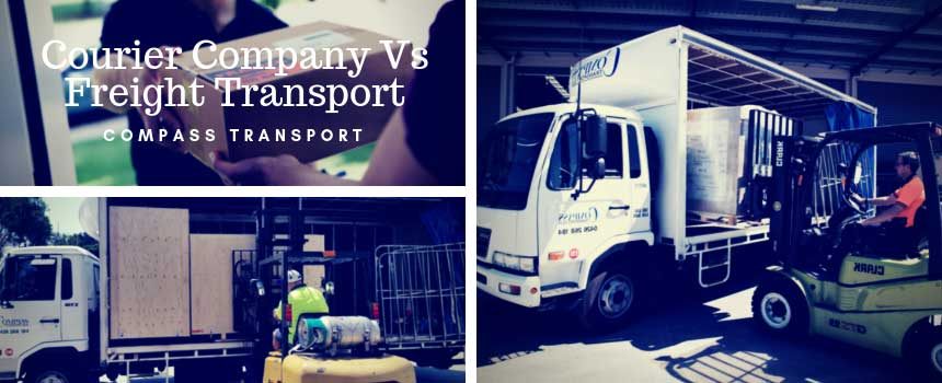 Courier Company Vs Freight Transport