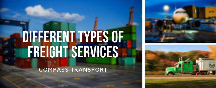 Different Types of Freight Services