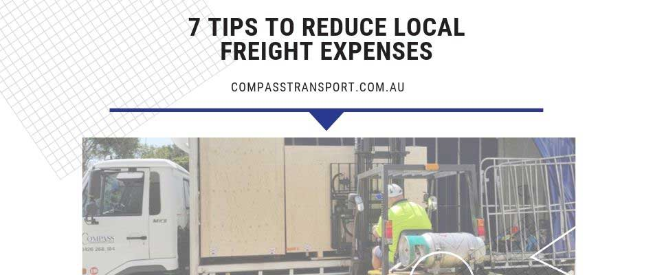 7 Tips to Reduce Local Freight Expenses