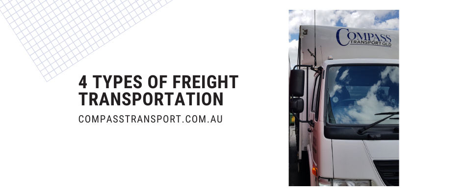 4 types of freight transportation